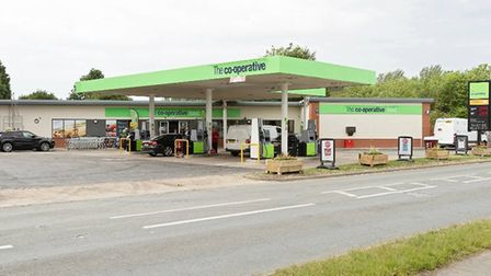 Central England Co-Operative has opened a new £1.4m store in Stowupland, Suffolk.Photo: Co-op.