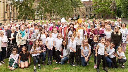 People from churches across Suffolk who attended the Catching the Fire event at St Edmundsbury Cathe