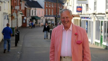 Dudley Clarke, pictured in 2011. Picture: SIMON PARKER