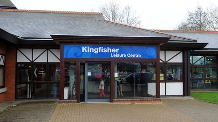 Work at Kingfisher Leisure Centre in Sudbury will be completed in three phases Picture: ARCHANT