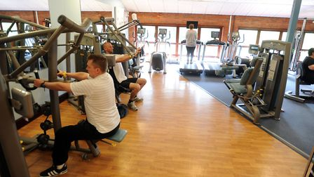 The gym at Kingfisher Leisure Centre will be extended and improved Picture: ARCHANT