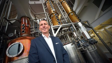 Andy Wood, chief executive, at The Copper House, Adnams, Southwold PICTURE: Jamie Honeywood