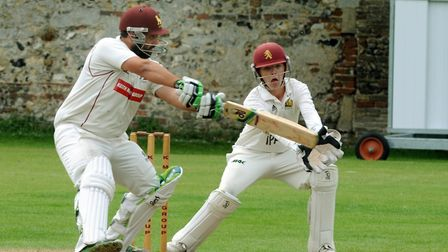 Ben Reece, who guided Sudbury to a last gasp one-wicket win over Horsford, thanks to 38 not out off