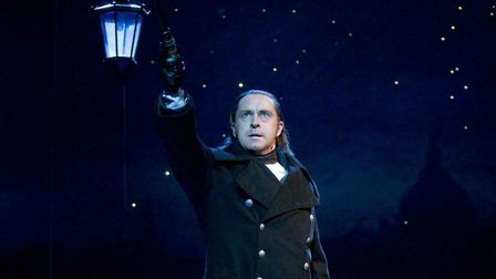 Earl Carpenter as Javert from the production of Les Miserables. Earl Carpenter is performing at this