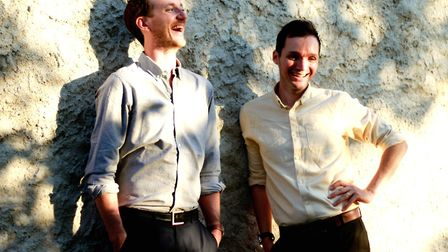 Folk duo Jacob and Drinkwater, who have performed at the Glastonbury Festival, will be bringing thei