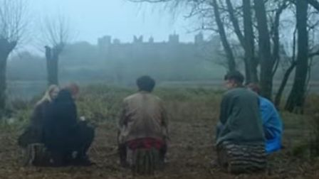 Framlingham Castle appears at the end of Ed Sheeran's Castle on the Hill video. Picture: Ed Sheeran
