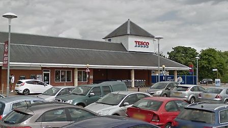 The incident happened at Tesco on Springlands Way in Sudbury Picture: GOOGLE MAPS
