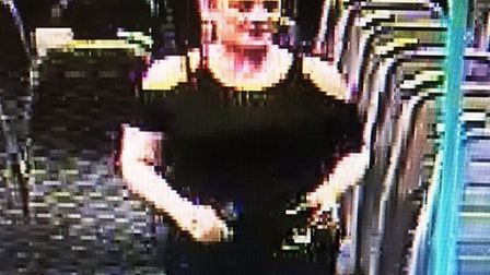 Do you know this woman? Police would like to speak to her following an assault on a pregnant woman o
