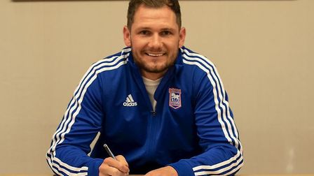 Ipswich Town have completed the signing of Tranmere striker James Norwood on a three-year deal. Pict