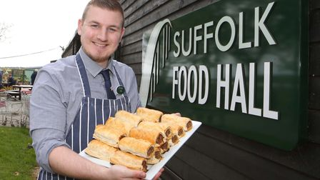 Craig Bullard, Suffolk Food Hall butchery supervisor, has spoken out about mental health. Picture: A