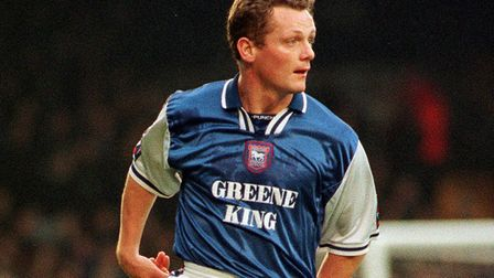 Magilton made an instant impact at Portman Road. PICTURE OWEN HINES