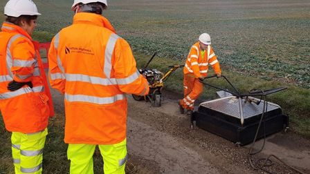 Kier runs Suffolk Highways for the county council. Picture: SUFFOLK HIGHWAYS