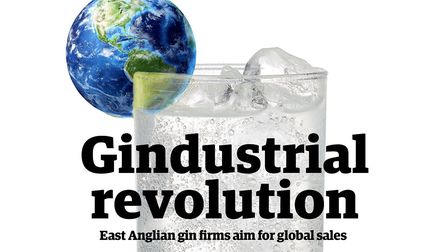East Anglian gin firms are looking to cash in on a buoyant export market