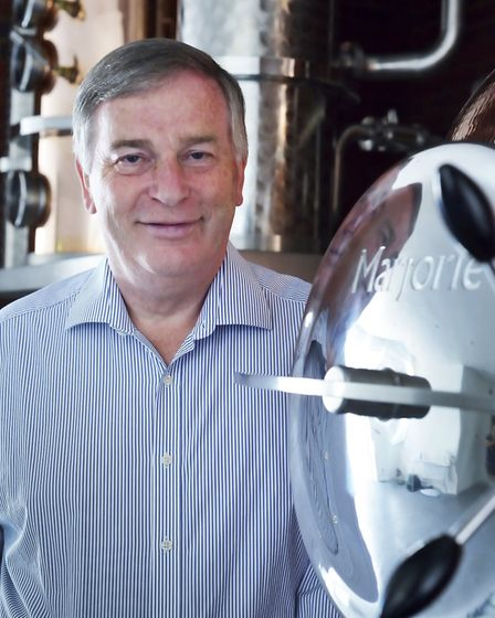 christopher hayman at the Witham distillery Picture: HAYMANS