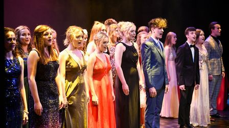 College students performing 'You Will Be Found' Picture: TUNBRIDGE