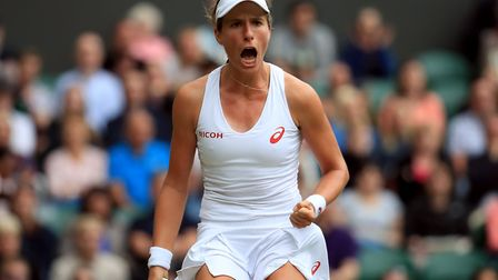 Nino Severino says Johanna Konta has reached the top of her sport the hard way. Picture: PA SPORT