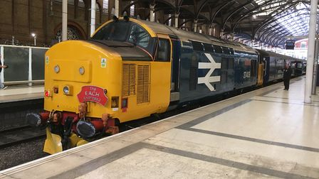 The EACH Express raised £22,000 for the children's hospices. Picture: PAUL GEATER