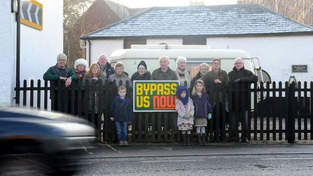 There's been a long campaign for the Four Villages' Bypass - but now that looks dead and buried. Pic