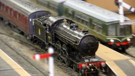 Model trains are set to come to Leiston for father's day Picture: SIMON PARKER