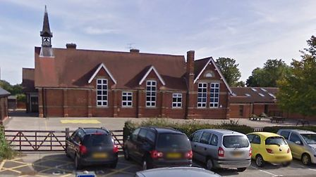 Woolpit Primary School could be extended Picture: GOOGLE MAPS