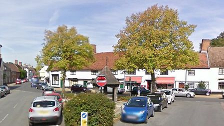 The centre of Woolpit Picture: GOOGLE MAPS