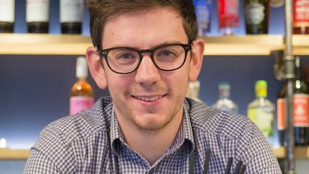 Benedict Orchard, environmental and sustainability manager at Adnams Picture: SARAH GROVES