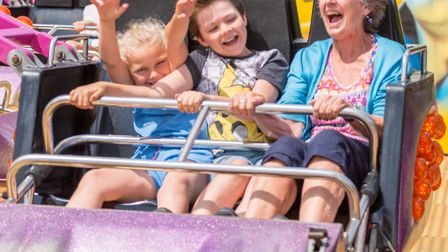 A fun fair will be on offer at the Rendlesham Show Picture: BOB FOYERS PHOTOGRAPHY