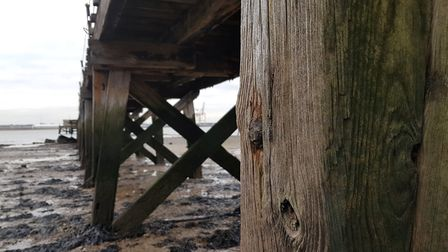 Shotley Pier requires millions of pounds for its regeneration, including making the supporting piles