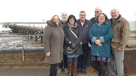Board members of Save Shotley Pier group are now working on a new plannign application for Babergh D