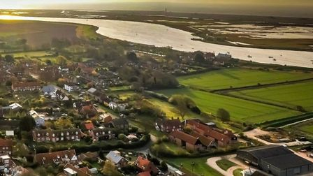 The River Ore at Orford Picture: Suffolk From The Sky