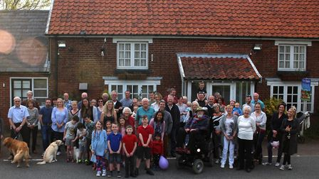 Villagers in Chedburgh are fighting to raise funds to buy the village pub Picture: CMCH