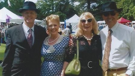 The 1940s vintage event will take place on June 22 Picture: DANCE WITH US SUFFOLK