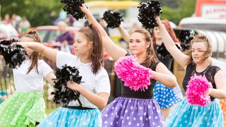 Poloz Majorettes at the Rendlesham show Picture: Foyers Photography