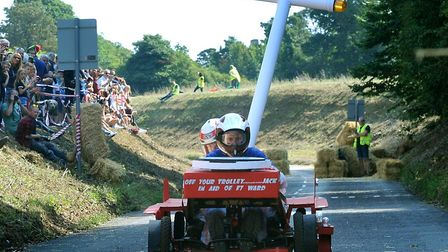 Newmarket's Soapbox Derby will take place on August 25 Picture: ANDY ABBOTT