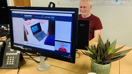 Richard Jennis, managing director of digital agency SimpleClick which has launched new eye-tracking