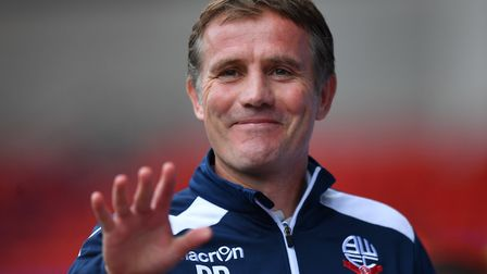 Bolton manager Phil Parkinson led his side straight back from League One. Picture: PA SPORT