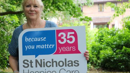 Jo Upton, of Haverhill, who is to perform a tandem skydive in aid of St Nicholas Hospice Picture: ST