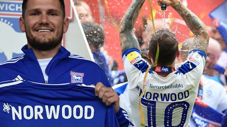James Norwood is Ipswich Town's newest signing. Picture: ITFC/PA