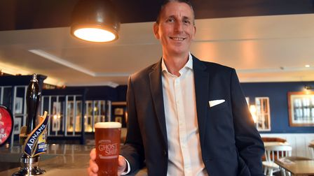 Andy Wood, chief executive, at The Swan, Adnams, Southwold. PICTURE: Jamie Honeywood