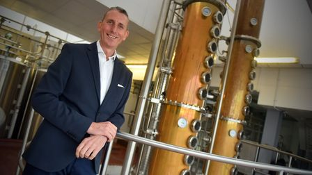 Andy Wood, chief executive, at The Copper House, Adnams, Southwold. PICTURE: Jamie Honeywood
