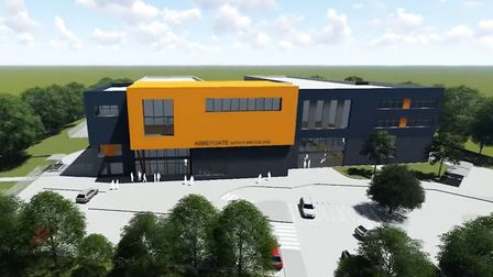A CGI of how the new Abbeygate Sixth Form College in Bury St Edmunds will look Picture: ABBEYGATE SF