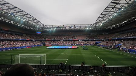 The Allianz Riviera prepares for its first World Cup group game Picture: KATY SANDALLS