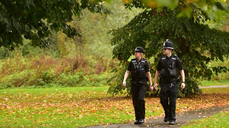Shocking figures have revealed there were 430 assaults on police officers in Suffolk Picture: SARAH