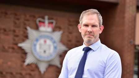 Assistant Chief Constable David Cutler condemned those who assault officers Picture: SARAH LUCY BROW