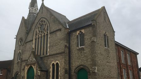 Christ Church United Reformed Church in Sudbury plus the adjoining Friars Hall are for sale Picture: