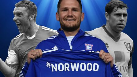 James Norwood will be hoping to follow in the footsteps of Rickie Lambert and Grant Holt on his way