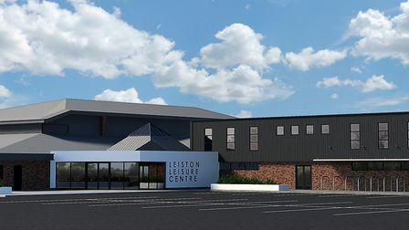 How the revamped Leiston Leisure Centre will look after the modernisation is complete Picture: EAST
