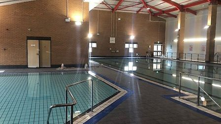 The new pool area at Leiston Leisure Centre Picture: EAST SUFFOLK COUNCIL