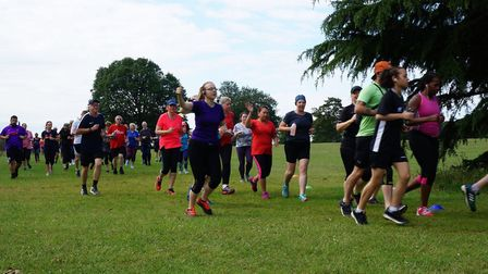A field of 347 tackled Saturday's Ipswich parkrun, held in fine running conditions. Picture: IPSWICH