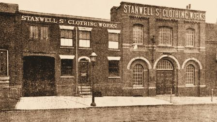The Colchester Manufacturing Companys works in Stanwell Street in 1897 Picture: Amberley Publishin